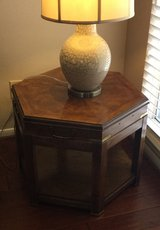 Living room end table in Houston, Texas