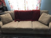 Sofa with chaise lounge option in Westmont, Illinois