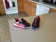 Boys size 7c Light up Cars shoes in Manhattan, Kansas