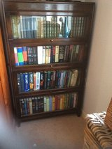 REDUCTION IN PRICE  ANTIQUE ( WERNICKE STYLE)  4  TIER BARRISTER/ LAWYER BOOKCASE in Lakenheath, UK