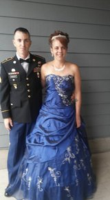 ball gown in Fort Campbell, Kentucky