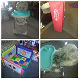 play pen and high chair/trade in Oceanside, California