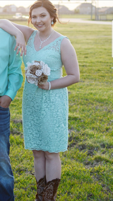 Bridesmaid dress in Baytown, Texas