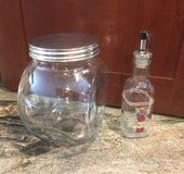 Free with any other purchase - Glass Jar and Cruet in Naperville, Illinois