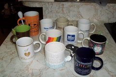 assorted coffee cups in The Woodlands, Texas