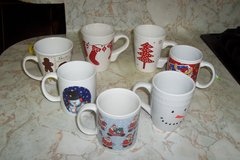 assorted Christmas Coffee cups in Conroe, Texas