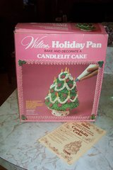 Vintage 1979 Wilson Candlelit Cake pan in The Woodlands, Texas