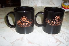 MGM Sands collector's coffee cups in The Woodlands, Texas