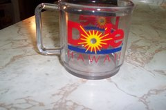 Dole Pineapple plastic mug in The Woodlands, Texas