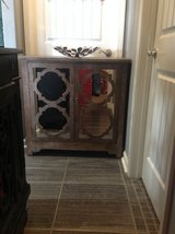New! Gorgeous Accent Mirrored Console Table nigthstand cabinet in Fort Campbell, Kentucky
