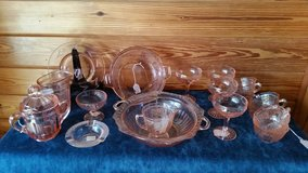 Reduced!! Pink Depression glass in Macon, Georgia