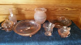 Reduced!! Pink Depression glass Lot #216 in Macon, Georgia