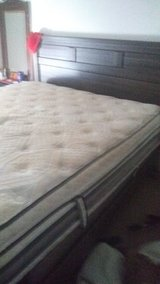 king size bed and headboard in Fort Campbell, Kentucky