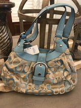 Coach Signature Soho Khaki/Blue in Fort Polk, Louisiana