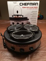 Triple Slow Cooker & Buffet Server in St. Charles, Illinois
