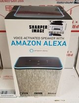 Sharper Image voice activated Speaker with Amazon Alexa in Huntington Beach, California