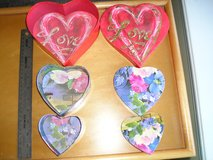 ROMANTIC VALENTINE HEART SHAPED ITEMS in Yorkville, Illinois