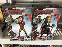 New Avengers Iron Man and Thor figures  in the box choice in Alamogordo, New Mexico