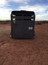 2014 2-Horse Slant W/ tack room..Like new.. in Alamogordo, New Mexico