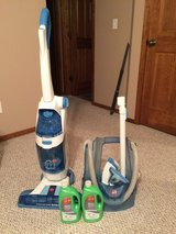 Hoover Floor Mate with all attachments and detergent in Fort Leonard Wood, Missouri