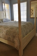 Queen Headboard and Footboard 4 poster or canopy in Lake Elsinore, California