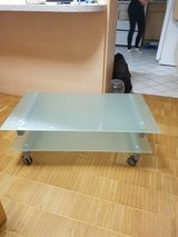 Glass TV stand in Wiesbaden, GE