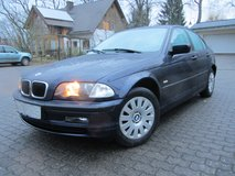 BMW 318 i, Model 2001, A/C, brand new certificated POV inspection in Ramstein, Germany