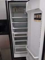 GE stainless steel refrigerator in Orland Park, Illinois