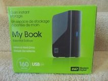 WD My Book Essential 160 GB USB 2.0 Desktop External Hard Drive in 29 Palms, California