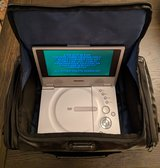Samsung Portable DVD Player with Travel Case in Wiesbaden, GE