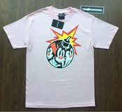 The Hundreds Animaniacs AniAdam Bomb Tee Pink Size Medium in Los Angeles, California