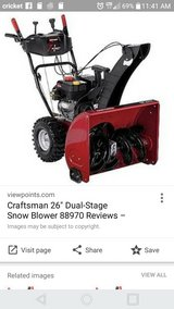 craftsman snow blower in St. Charles, Illinois
