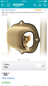 *reduced*Brand New Cat Bed in Okinawa, Japan