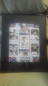 Cubs Fan? Sox Fan?  Framed Picture of Both NEW! in Bolingbrook, Illinois