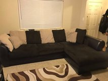 Couch and round chair for sale - Available Feb 1st in Fairfax, Virginia