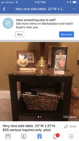 """table serious inquires only $25 22""""W x 21""""H in Perry, Georgia"""