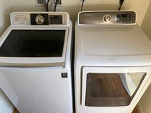 Samsung Electric Washer and Dryer w/ all attachments (High-end) in Fort Irwin, California