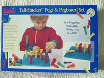 Tall-Stacker Pegs & Pegboard Set in Ramstein, Germany
