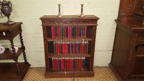 Carved Oak Bookcase free delivery others available in Lakenheath, UK