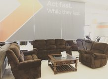 *FREE*RECLINER* WITH PURCHASE OF POWER SOFA AND LOVESEAT WITH ADJUSTABLE HEADREST in Fort Campbell, Kentucky