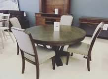 ASHLEY TABLE SET WITH 4 CHAIRS AS SHOWN *AshleyHomestoreOutlet* in Fort Campbell, Kentucky
