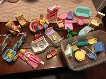 Doll house furniture and dolls in Beaufort, South Carolina