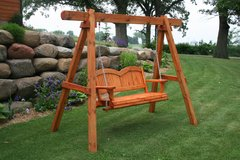 Handcrafted Wood Swings and Glider Swings in Camp Lejeune, North Carolina