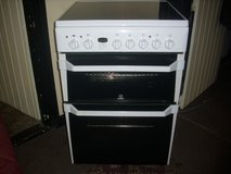 indesit 60cm electric ceramic top cooker in Lakenheath, UK