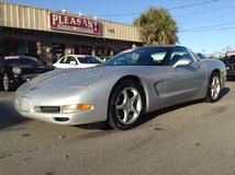 1999 Chevrolet Corvette Automatic! Glass and Hard top! Low miles! in Wilmington, North Carolina