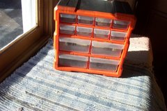 SMALL PLASTIC  PARTS DRAWER CABINET in Aurora, Illinois