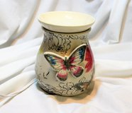 NEW Butterfly Accent Wax Warmer Expressions Aroma Home Decor Family Laughter Home Love in Kingwood, Texas