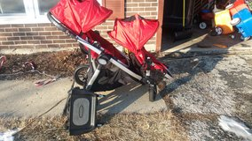 Baby Jogger City Select Double Stroller in New Lenox, Illinois