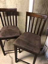 Brown bar stools in Westmont, Illinois