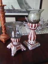 Candle holders in Camp Pendleton, California
